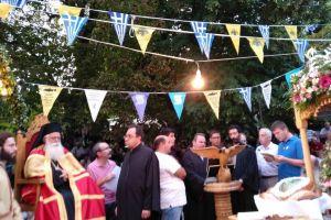 Πάνδημος ο εορτασμός του Αγίου Αποστόλου του Νέου στο Πήλιο