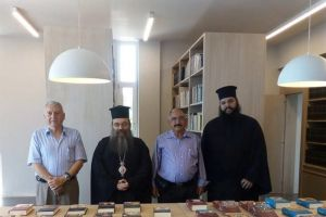 Δωρεά Αρχαίων Συγγραφέων στην Βιβλιοθήκη της Ι.Μ. Χίου