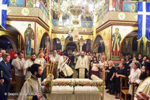 Eορτάσθηκε εις την Ιερά Μητρόπολη Λαγκαδά, Λητής και Ρεντίνης η εορτή της Κοιμήσεως και η εις τους Ουρανούς Μετάστασή της Υπεραγίας Θεοτόκου.