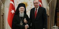 «Ανούσιοι και αβάσιμοι οι ισχυρισμοί για πιέσεις στις θρησκευτικές μειονότητες της Τουρκίας», δηλώνει ευθαρσώς ο Οικουμενικός Πατριάρχης Βαρθολομαίος