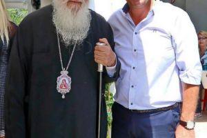 Ο Αρχιεπίσκοπος στο Δήμο Παγγαίου λίγο πριν την Ξάνθη