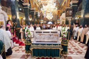Εσπερινός και λιτανεία στον Ι.Ν. Οσίου Αντωνίου του Νέου στη Βέροια