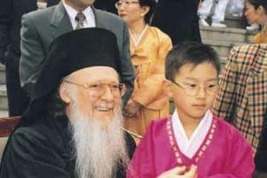 Ο Οικουμενικός Πατριάρχης στην Κορέα τέλος του χρόνου