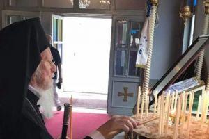Ο Πατριάρχης στις εκκλησίες της Πόλης για τις Παρακλήσεις της Παναγίας μας