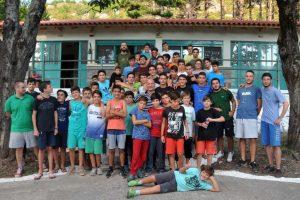 Αθλητική εκδήλωση στην κατασκήνωση της Ι. Μ. Μεσσηνίας