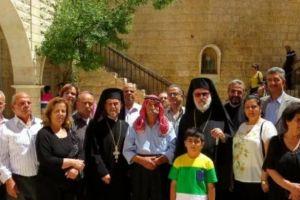 Η πρώτη λειτουργία στην Ορθόδοξη Μονή της Αγ.Θέκλας στη Μααλούλα στη Συρία