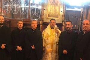 Τα εννιάμερα της Παναγίας στο Νιχώρι Βοσπόρου με τον Σεβ. Ικονίου Θεόληπτο