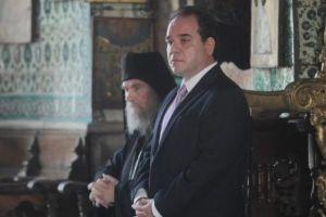 Θερμή υποδοχή στο νέο διοικητή Αγίου Όρους Κωστή Δήμτσα στη Μονή Μεγίστης Λαύρας