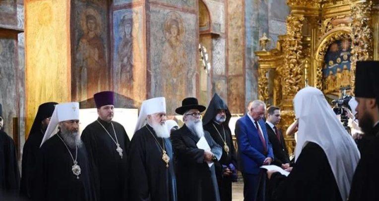 Παρουσία των θρησκευτικών ηγετών η επέτειος της ανεξαρτησίας της Ουκρανίας