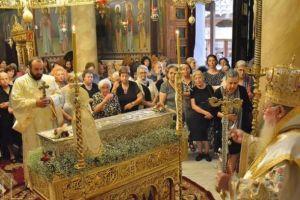 Πανηγύρισε η Ι. Μονή Αγίας Θεοδώρας της Μυροβλύτιδος στη Θεσσαλονίκη