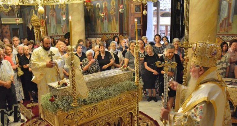 You are currently viewing Πανηγύρισε η Ι. Μονή Αγίας Θεοδώρας της Μυροβλύτιδος στη Θεσσαλονίκη