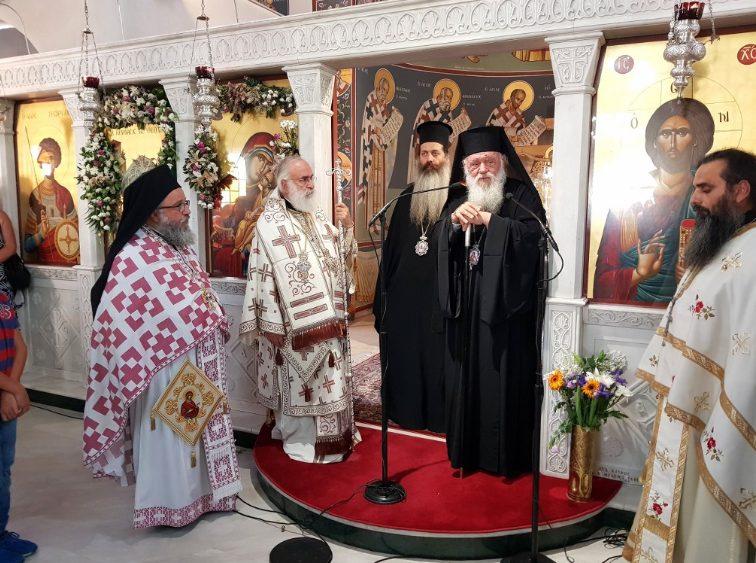 Αρχιεπίσκοπος Ιερώνυμος στην Ξάνθη