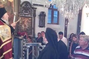 Ο Οικουμενικός Πατριάρχης στην γενέτειρά του Ίμβρο, για την Παναγία