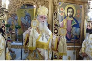 Η Κοίμηση της Θεοτόκου στη Μητρόπολη Καστορίας