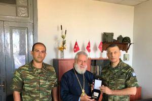 Με τον Αρχηγό ΓΕΣ συναντήθηκε ο Μητροπολίτης Δωρόθεος
