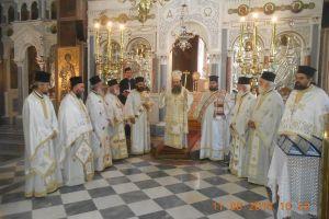 Ο εορτασμός της Συνάξεως των εν Βροντάδῳ της Χίου διαλαμψάντων Αγίων
