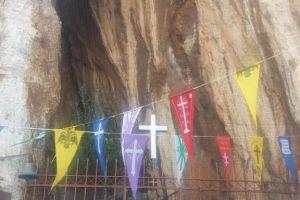 Εορτάστηκε η μνήμη του Αγίου Αριστείδου στο σπήλαιο του Λυκαβηττού