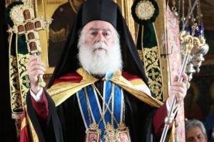 Ο Πατριάρχης Αλεξανδρείας Θεόδωρος αποτίει φόρο τιμής στον μακαριστό προκάτοχό του, Πέτρο