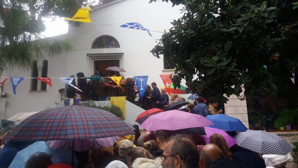 Ο εορτασμός της Συνάξεως των Αγίων Ισιδώρων στον ομώνυμο ναό του Λυκαβηττού