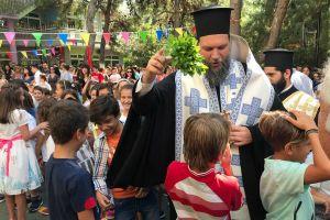 Εναρκτήριοι Αγιασμοί σε σχολεία από τον Μητροπολίτη Νέας Ιωνίας