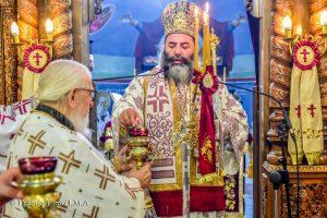 Ιερά Ακολουθία επί τη διασαλεύση της Αγίας Τραπέζης στον Προφήτη Ηλία Λαγκαδά