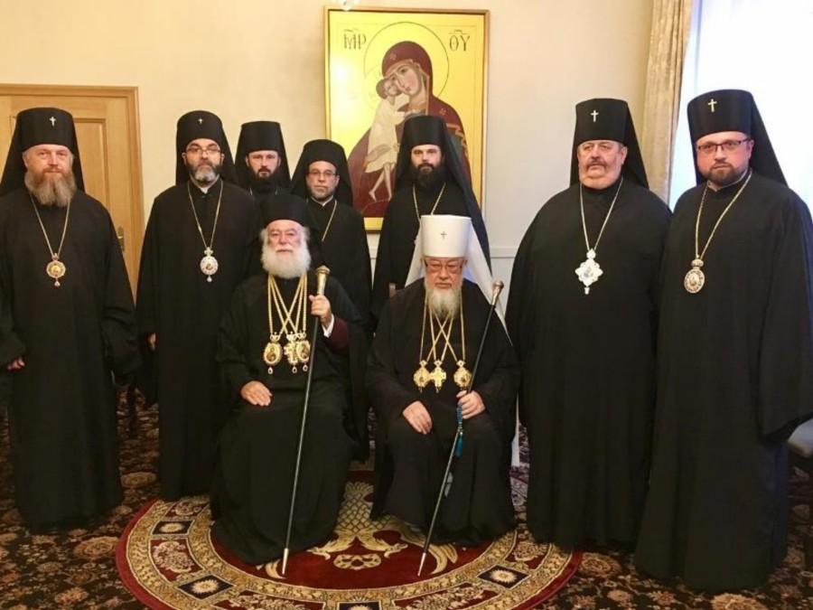 You are currently viewing Οι Προκαθήμενοι Αλεξανδρείας και Πολωνίας απευθύνουν έκκληση για το θέμα της Ουκρανίας