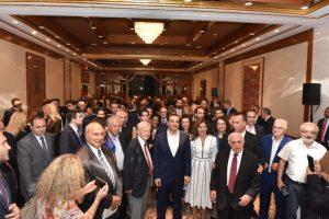 Σύντομη η παρουσία του Αρχιεπισκόπου Δημητρίου στη δεξίωση προς τιμήν του Τσίπρα