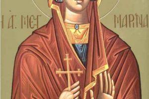 Η κάρα της Αγίας Μαρίνας στον Άγιο Ιωάννη- Θεολόγο- Δήμου Διρφύων- Μεσσαπίων