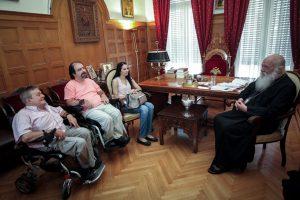 Επισκέψεις στον Αρχιεπίσκοπο