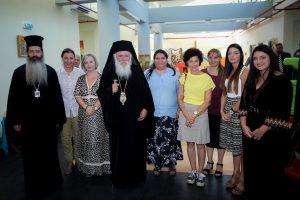 """Παρουσία του Αρχιεπισκόπου Ιερωνύμου ο αγιασμός στον Βρεφονηπιακό Σταθμό της """"Αποστολής"""" στο Δήλεσι"""