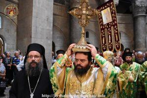 Η εορτή της Υψώσεως του Τιμίου Σταυρού στο Πατριαρχείο Ιεροσολύμων
