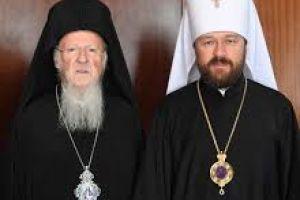 Ιταμή και άθλια επίθεση του Ιλαρίωνα στον  Οικουμενικό Πατριάρχη- Η Μόσχα έβγαλε «κόκκινη κάρτα» στο Φανάρι