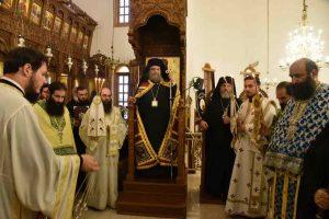 Με λαμπρότητα εόρτασε  τα ονομαστήριά  του ο  δραστήριος Μητροπολίτης  Ταμασού και Ορεινής Ησαίας στην Κύπρο