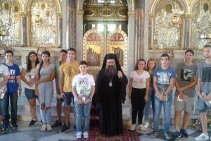 Με τέκνα Ιερέων συναντήθηκε ο Χίου Μάρκος