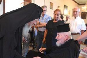 Ο Οικ.Πατριάρχης Βαρθολομαίος μίλησε με συγκινητικά λόγια για τον μακαριστό Μητροπολίτη Θεοδωρουπόλεως Γερμανό τον Άγιο