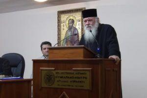 Ο Αρχιεπίσκοπος στο Πανελλήνιο Λειτουργικό Συμπόσιο Στελεχών Μητροπόλεων