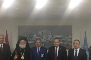 Με το νέο διοικητή της Αλεξάνδρειας συναντήθηκε ο Πατριάρχης Θεόδωρος