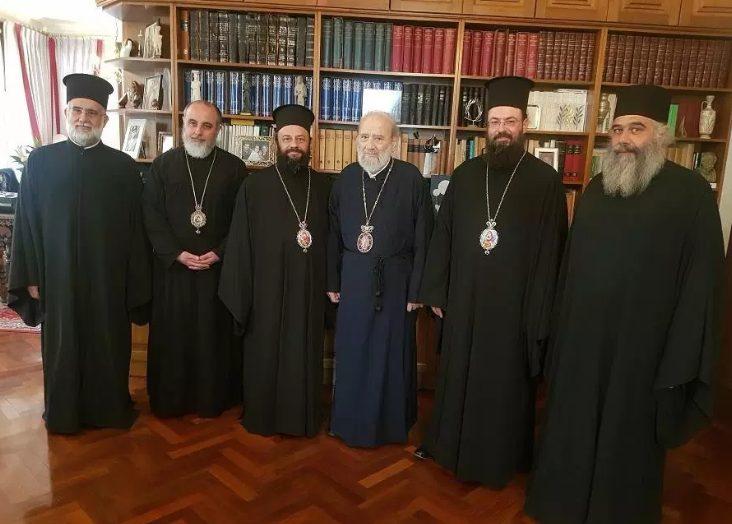 Στον Αρχιεπίσκοπο Αυστραλίας Στυλιανό, ο νέος Μητροπολίτης Ν.Ζηλανδίας Μύρων