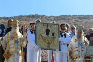 Με λαμπρότητα εόρτασαν στα Κύθηρα την Μυρτιδιώτισσα Παναγία