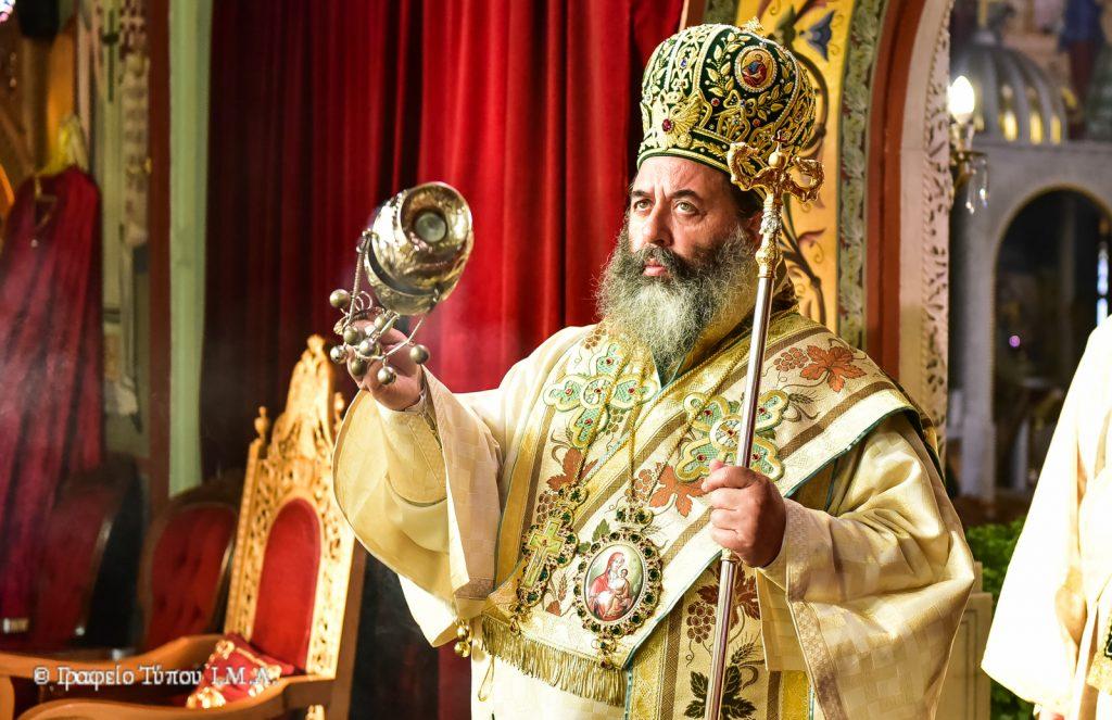 """Λαγκαδά Ιωάννης:""""Η ζωή του Σταυρού είναι θρίαμβος, είναι χαρά, είναι αυτή που προσφέρει την Ουράνια Μακαριότητα"""""""
