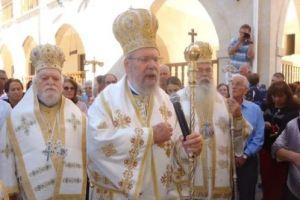 Αρχιεπισκοπικό Συλλείτουργο στην Ιερά Μονή Αγίου Νεοφύτου στην Κύπρο