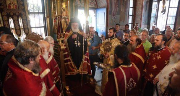 Η Παναγία η Παντάνασσα εορτάστηκε στο μετόχι της Ι.Μ.Μ. Βατοπαιδίου στο Πόρτο Λάγος