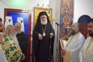 Ο Ιλίου Αθηναγόρας τίμησε την εορτή του Σταυρού με το ιουλιανό( παλαιό) ημερολόγιο