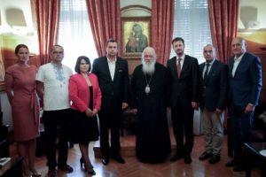 Ο Πρόεδρος της Σλοβακικής Βουλής στον Αρχιεπίσκοπο Ιερώνυμο