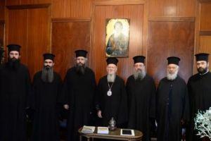 """Οικ.Πατριάρχης προς τον Πατρών Χρυσόστομο και σε προσκυνητές : """"Υπήρξα στόχος πολλών αλλά έχω ήσυχη τη συνείδησή μου"""""""