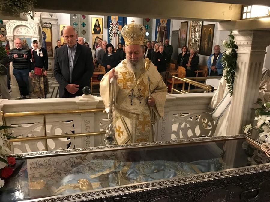 Ο δεύτερος εορτασμός του Οσίου Ιωάννου του Ρώσσου, στο Νέο Προκόπιο Ευβοίας