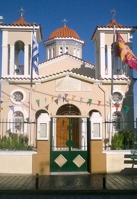 Λαμπρός ο εορτασμός του εν Χίω θαύματος της Αγίας Παρασκευἠς στο Καστέλλο της Χίου