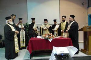 Αγιασμός στο Δ.Π.Θ. από τον Μητροπολίτη Διδυμοτείχου Δαμασκηνό