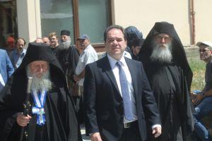 Ο Διοικητής του Αγίου Όρους Κωστής Δήμτσας προετοιμάζει πυρετωδώς την  επίσκεψη του Πρωθυπουργού στο Άγιο Όρος