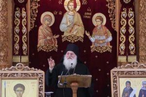 Χιλιάδες λαού στον Γέροντα Εφραίμ στον Αγιο Δημήτριο στο Μπραχάμι
